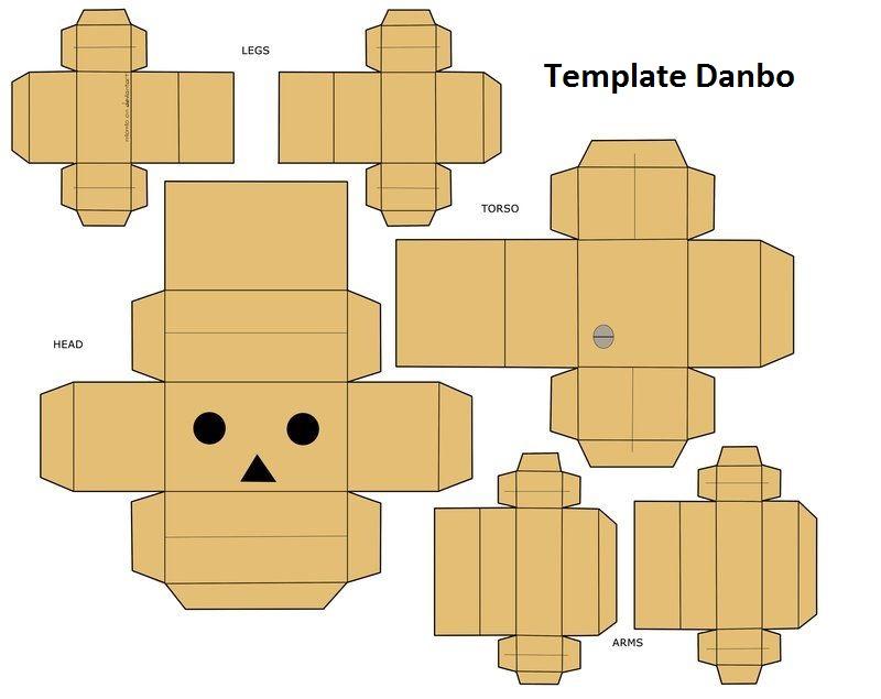 Danbo, Kerajinan Kertas Berbentuk Boneka yang Bisa Kamu Buat di Rumah