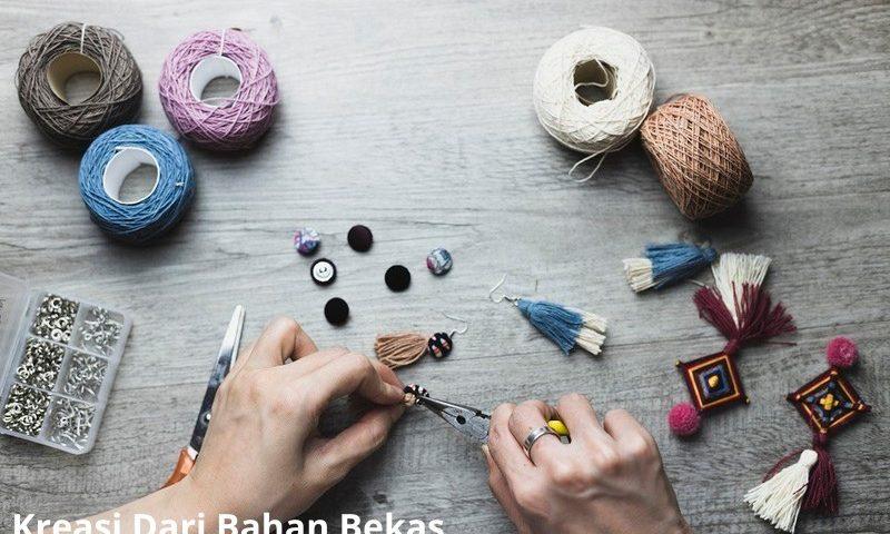 Kerajinan Barang Bekas Kreatif Yang mudah dibuat