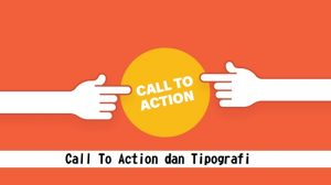 Call To Action dan Tipografi
